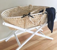 Tom and Milly: Moses Basket, $69.95