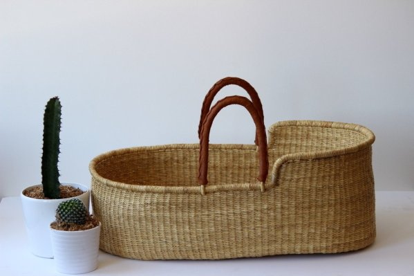 Cub and Co: Natural Moses Basket, $239.00